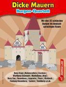 Cover-Bild zu Burgen Quartettspiel von Ronald, Gohl