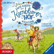 Cover-Bild zu Wir Kinder vom Kornblumenhof. Kühe im Galopp (Audio Download) von Fröhlich, Anja