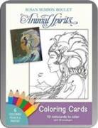 Cover-Bild zu Boulet, Susan Seddon (Illustr.): Susan Seddon Boulet Animal Spirits Coloring Cards