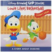 Cover-Bild zu Pi Kids: Disney Growing Up Stories: Louie Likes Basketball: A Story about Sharing