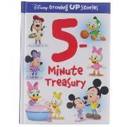 Cover-Bild zu Pi Kids: 5-Minute Treasury Disney Growing Up Stories