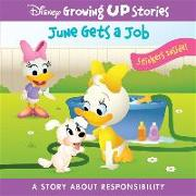 Cover-Bild zu Maruyama, Jerrod: Disney Growing Up Stories: June Gets a Job: A Story about Responsibility