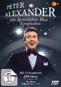 Cover-Bild zu Peter Alexander (Schausp.): Peter Alexander Spezialitäten Show - Komplettbox