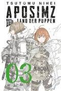 Cover-Bild zu Nihei, Tsutomu: Aposimz - Land der Puppen 3