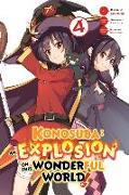 Cover-Bild zu Natsume Akatsuki: Konosuba: An Explosion on This Wonderful World!, Vol.4