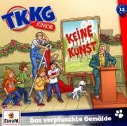 Cover-Bild zu TKKG Junior - 013/Das verpfuschte Gemälde