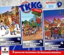 Cover-Bild zu TKKG Junior - Spürnasen-Box 3 (Folgen 7, 8, 9) (3 Audio-CDs)