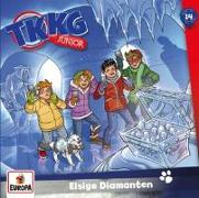 Cover-Bild zu TKKG Junior - 014/Eisige Diamanten