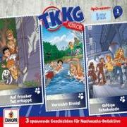 Cover-Bild zu TKKG Junior 3er Box 01 Folgen 1-3 (3 Audio-CD's)