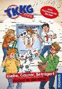 Cover-Bild zu TKKG Junior, Diebe, Gauner, Betrüger! von Tannenberg, Benjamin