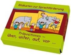 Cover-Bild zu Bildkarten zur Sprachförderung: Präpositionen: über, unter, auf, vor von Morgenthau, Lena