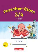 Cover-Bild zu Forscher-Stars, Sachunterricht, 3./4. Schuljahr, Technik, Übungsheft, Mit Lösungen von Buntrock, Monika