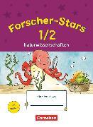 Cover-Bild zu Forscher-Stars, Sachunterricht, 1./2. Schuljahr, Naturwissenschaften, Übungsheft, Mit Lösungen von Kiesinger-Jehle, Barbara