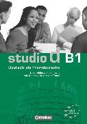 Cover-Bild zu Studio d, Deutsch als Fremdsprache, Grundstufe, B1: Gesamtband, Unterrichtsvorbereitung (Print), Vorschläge für Unterrichtsabläufe, Tests und Kopiervorlagen von Bettermann, Christel