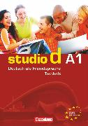 """Cover-Bild zu Studio d, Deutsch als Fremdsprache, Grundstufe, A1: Gesamtband, Testheft A1 mit Modelltest """"Start Deutsch 1"""", Mit Audio-CD von Mukmenova, Nailia"""