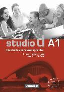Cover-Bild zu Studio d, Deutsch als Fremdsprache, Grundstufe, A1: Gesamtband, Unterrichtsvorbereitung (Print) mit Demo-CD-ROM, Vorschläge für Unterrichtsabläufe, Tests und Kopiervorlagen von Bettermann, Christel