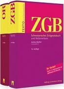 Cover-Bild zu Texto Kombipaket ZGB, OR von Büchler, Andrea (Hrsg. Koord.)