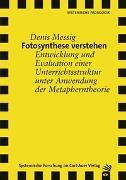 Cover-Bild zu Fotosynthese verstehen von Messig, Denis