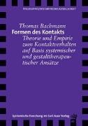 Cover-Bild zu Formen des Kontakts von Bachmann, Thomas