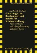 Cover-Bild zu Erwartungen an Beraterinnen und Berater für Schulentwicklung von Bodlak, Reinhard