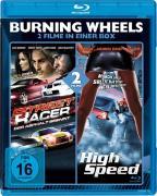 Cover-Bild zu Burning Wheels: Street Racer & High Speed von Clint Browning (Schausp.)
