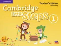 Cover-Bild zu Cambridge Little Steps Level 1 Teacher's Edition American English von Drury, Paul
