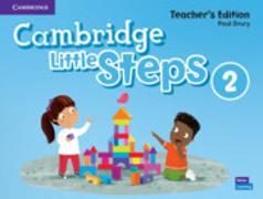 Cover-Bild zu Cambridge Little Steps Level 2 Teacher's Edition American English von Drury, Paul