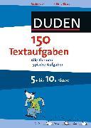 Cover-Bild zu 150 Textaufgaben 5. bis 10. Klasse (eBook) von Witschaß, Timo