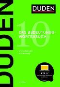 Cover-Bild zu Duden - Bedeutungswörterbuch von Dudenredaktion (Hrsg.)