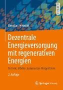 Cover-Bild zu Dezentrale Energieversorgung mit regenerativen Energien (eBook) von Synwoldt, Christian
