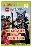 Cover-Bild zu SUPERLESER! LEGO® NINJAGO® Die größten Ninja-Abenteuer von March, Julia