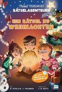 Cover-Bild zu Ein Rätsel zu Weihnachten - Timmi Tobbson Rätselabenteuer Junior von Vitale, Brooke