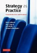 Cover-Bild zu Strategy as Practice von Johnson, Gerry