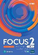 Cover-Bild zu Focus BrE 2nd Level 2 Student's Book & eBook with extra Digital Activities & App von Kay, Sue