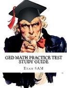 Cover-Bild zu GED Math Practice Test Study Guide von Exam Sam