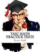 Cover-Bild zu TASC Math Practice Tests von Exam Sam