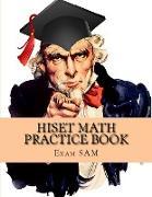 Cover-Bild zu HiSET Math Practice Book von Exam Sam