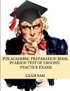 Cover-Bild zu PTE Academic Preparation Book von Exam Sam