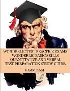 Cover-Bild zu Wonderlic Test Practice Exams von Exam Sam