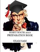 Cover-Bild zu HiSET Math 2021 Preparation Book von Exam Sam