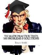 Cover-Bild zu TSI Math Practice Tests von Exam Sam