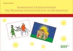Cover-Bild zu Kamishibai - Die Weihnachtsgeschichte in Bildkarten für Grundschule und Kindergarten - DIN A4 von Foerster, Tamara (Illustr.)