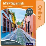 Cover-Bild zu MYP Spanish Language Acquisition Online Student Book Phases 3 & 4 von González Salgado, Cristóbal