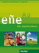 Cover-Bild zu eñe A2. Kursbuch + Arbeitsbuch + 2 Audio-CDs von González Salgado, Cristóbal