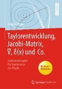 Cover-Bild zu Taylorentwicklung, Jacobi-Matrix, ¿, d(x) und Co (eBook) von Engel, Andreas