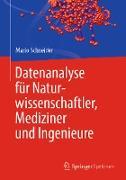 Cover-Bild zu Datenanalyse für Naturwissenschaftler, Mediziner und Ingenieure (eBook) von Schneider, Mario
