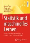 Cover-Bild zu Statistik und maschinelles Lernen (eBook) von Trabs, Mathias