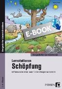 Cover-Bild zu Lernstationen Schöpfung (eBook) von Weber, Nicole