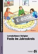 Cover-Bild zu Lernstationen Religion: Feste im Jahreskreis (eBook) von Weber, Nicole