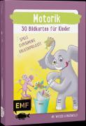 Cover-Bild zu Motorik - 30 Bildkarten für Kinder im Kindergarten- und Vorschulalter von Pichler, Sandra